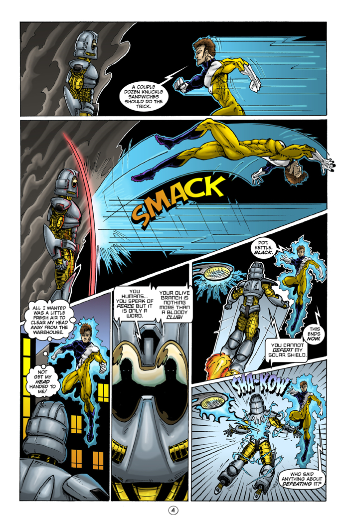 Honor Brigade #4 Page 4