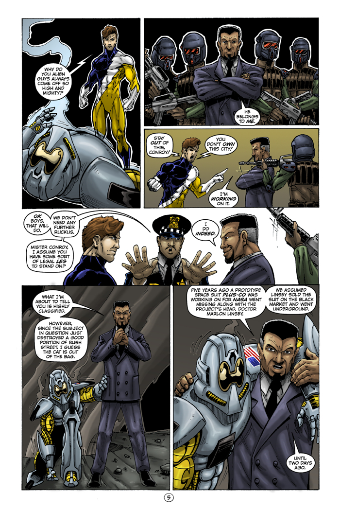Honor Brigade #4 Page 5